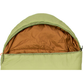 CAMPZ Surfer Pro 1200 Slaapzak Regular, olive/brown